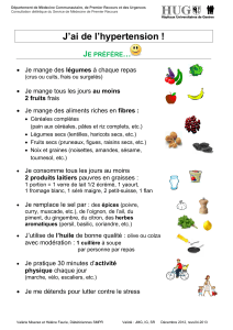 J'ai de l'hypertension ! … J