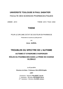 THESE UNIVERSITE TOULOUSE III PAUL SABATIER FACULTE DES SCIENCES PHARMACEUTIQUES