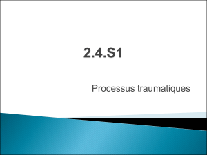 cours ifsi traumatismes du thorax processus traumatiques