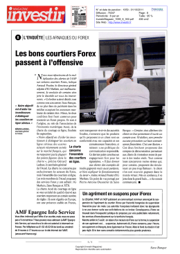 ou courtiers bons Forex