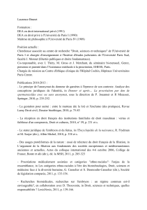 Laurence Brunet  Formation : DEA en droit international privé (1991)