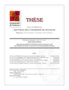 TH ` ESE DOCTORAT DE L'UNIVERSIT´ E DE TOULOUSE