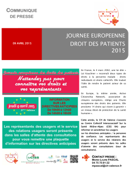 04-Journ e droits des patients - directives anticip es