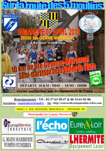 DEPARTS  10 KM : 9H45  -  SEMI :... Courses qualificatives pour les championnats de France