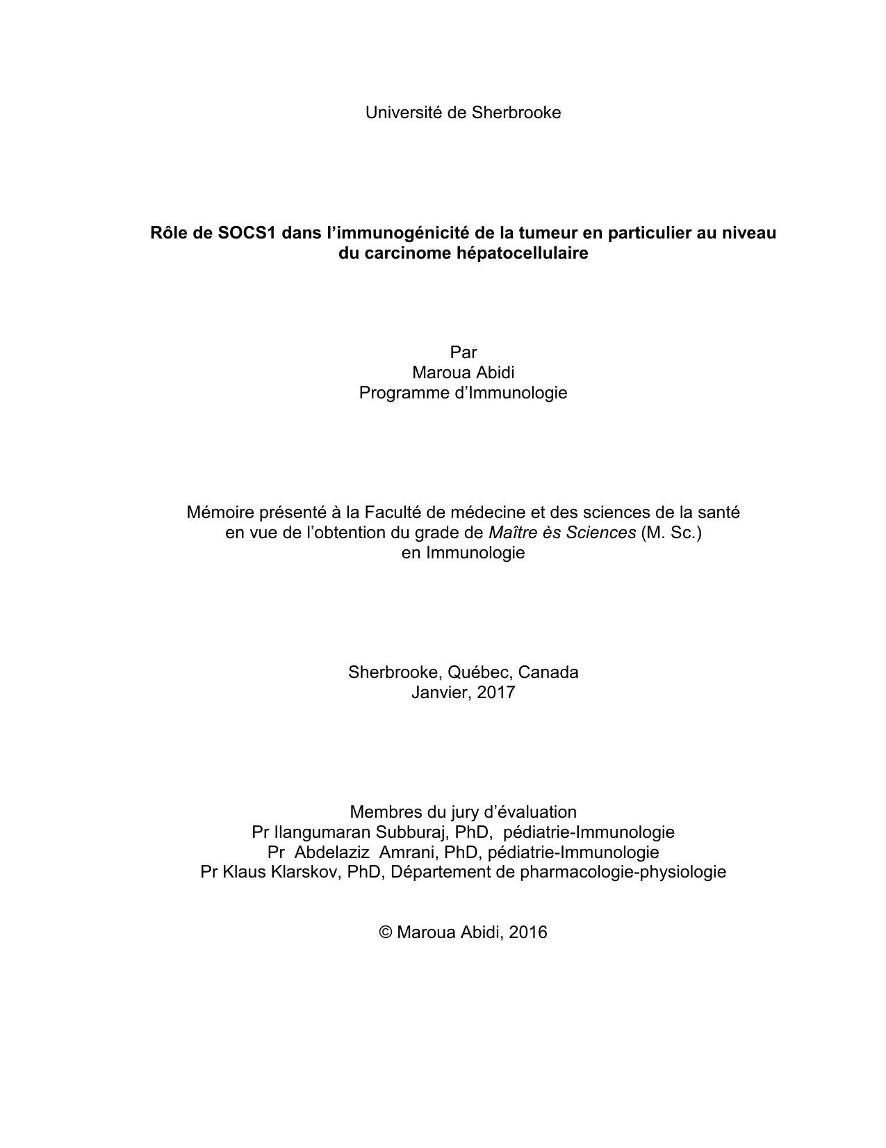 Rencontre PhD superviseur
