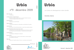 urbia 09 sommaire