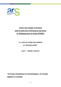 Cahier des charges contractuel