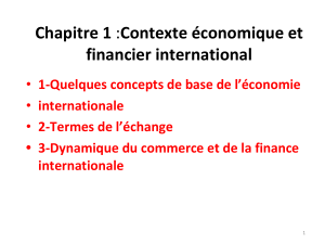 Chapitre 1 financier international