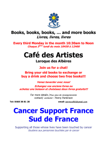 Café des Artistes  Books, books, books, … and more books
