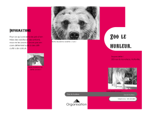 Zoo le Informations