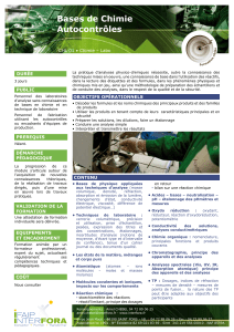 CHL01 bases chimie autocontroles