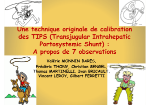 Une technique originale de calibration d TIPS (T j