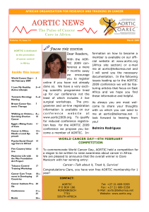 Click here to download the March 2009 English AORTIC Newsletter