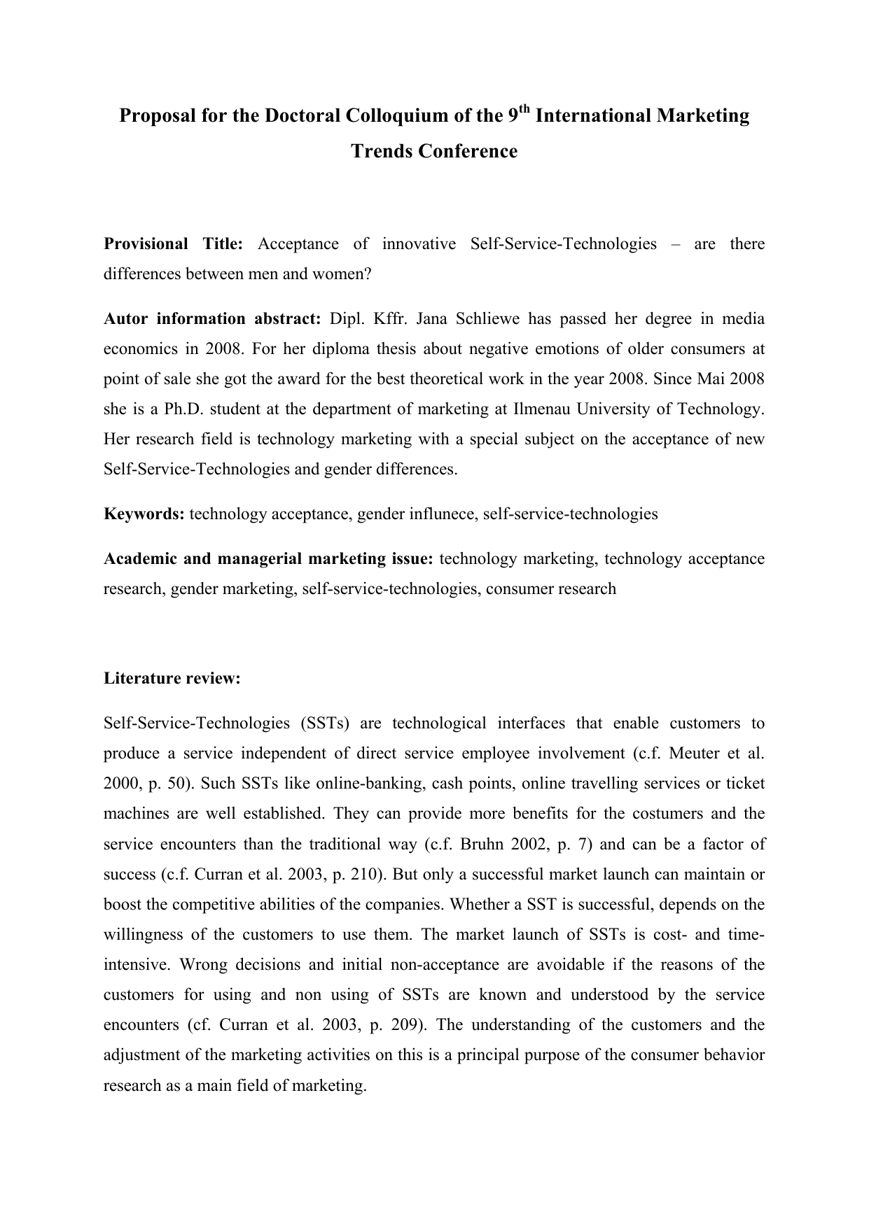 Phd thesis on international marketing