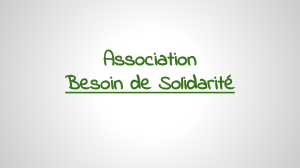 Association Besoin de Solidarité