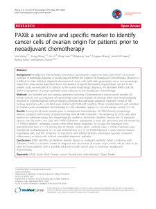 PAX8: a sensitive and specific marker to identify