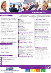 FORMATION PRO Nous sommes