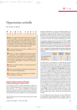 Hypertension artérielle H
