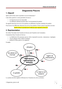 Diagramme Pieuvre 1. Objectif