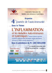 l inflammation 4eme journee autoimmunite 2014 ammais