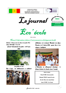 journal eco ecole mars 2016