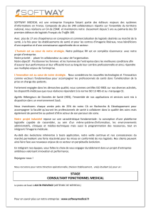 consultant fonctionnel medical