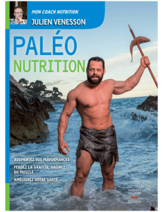 paleo nutrition julien venesson