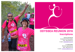 ODYSSEA REUNION 2016 Inscriptions