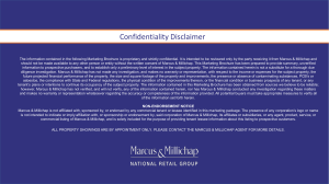 Confidentiality Disclaimer
