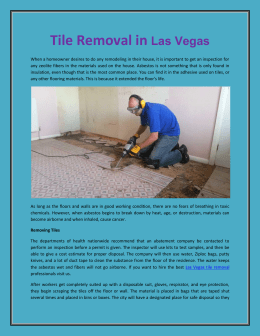 Tile Removal in  Las Vegas