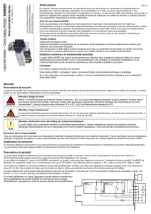 Industrial Safety – Carte Safety AX 5801 -