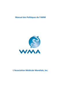 format PDF recto simple - World Medical Association
