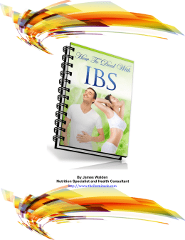 The IBS Miracle PDF EBook James Walden
