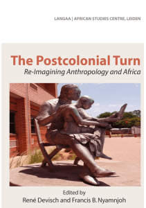 René Devisch & Francis Nyamnjoh - The postcolonial turn
