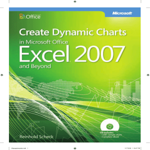 Reinhold Scheck - Create dynamic charts in Microsoft Office Excel 2007 and beyond-Microsoft Press  (2009)