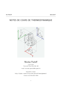 cours thermo