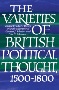 pocock - 1993 - The varieties of British political thought, 1500-1800