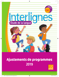 44550 - Interlignes EDL CM1-Ajustement 2019-W