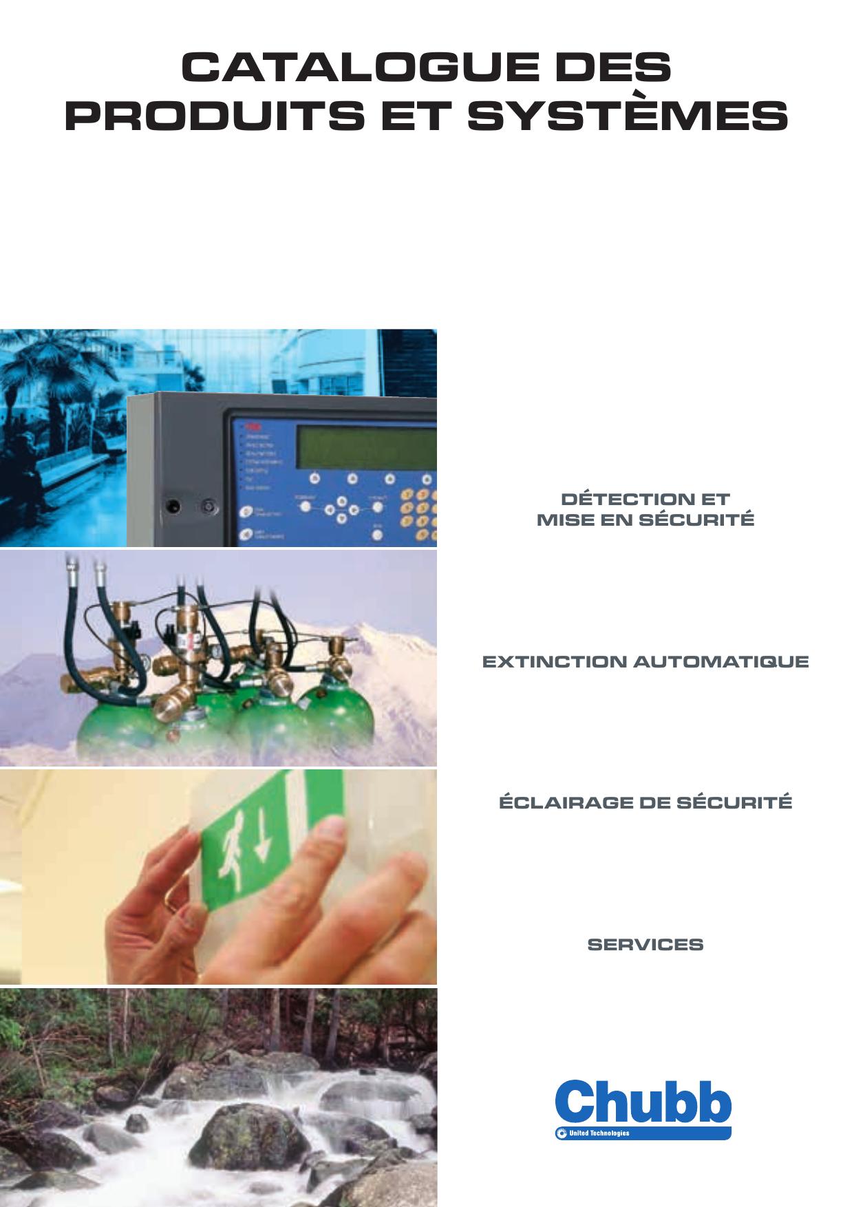 SON/'ECLA BAAS Sa NFS V Chubb système d/'alarme sonore et visuel