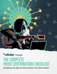 Music-Distribution-Checklist 2019 EN
