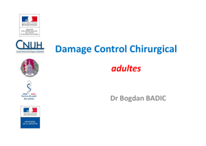 damage control surgery b.badic