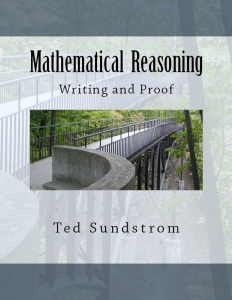 Mathematical reasoning writing and proof(1)