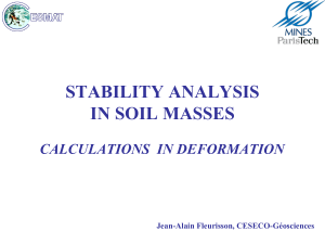 5. Soils - Deformation calculation