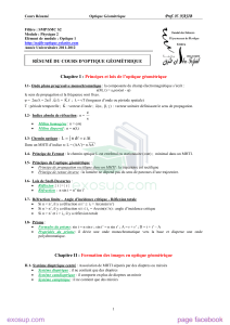 resume optique geometrique SMP SMC S2 By ExoSup.com