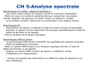 ch 5 analyse spectrale