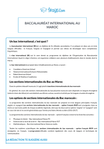 programme baccalaureat-international-au-maroc