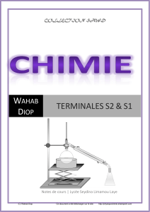 chimie wts