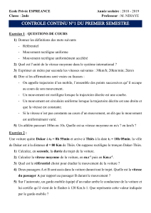 DEVOIR PC 1 SECONDE 2019-2020