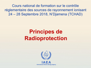 03 - Principes de Radioprotection