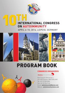2016-04-Autoimmunity-10th-ProgramBook